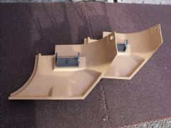 MAZDA MX5 EUNOS (MK1 1989 - 97) LHS TAN LOWER FOOTWELL PANEL - PASSENGER SIDE
